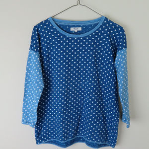 Women's Madewell PolkaDot cotton shirt, Size XS